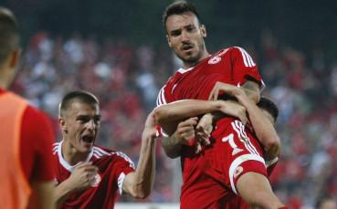 Вторият гол на Диого Виана за ЦСКА срещу Славия
