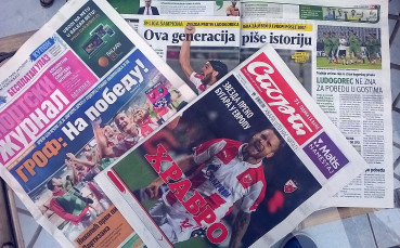 Сръбските медии оптимисти за мача