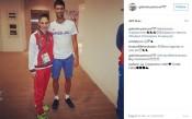 Габи Петрова се щракна със световния номер 1 Джокович