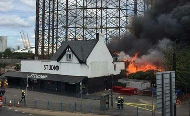 Пожарът в Лондон
