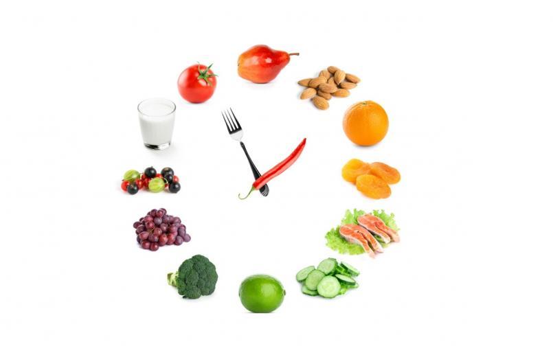 часовник храна диета