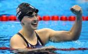Кейти Ледецки постави нов олимпийски рекорд на 800 метра
