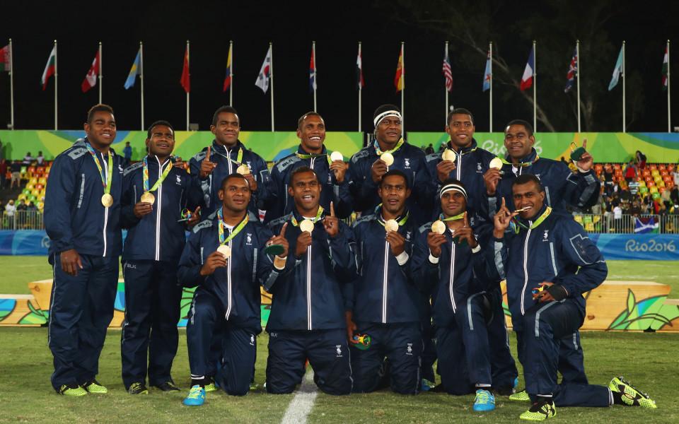 Историческо злато за Фиджи в ръгби-7