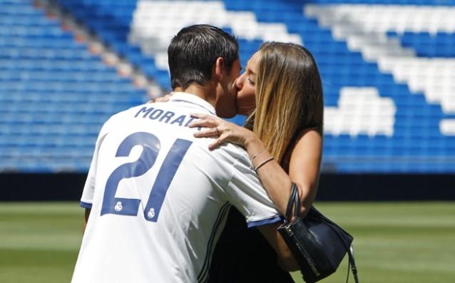 Алваро Мората и Алис Капело<strong> източник: БГНЕС</strong>
