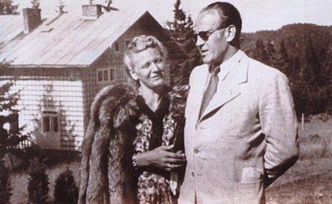 Оскар Шиндлер и неговата съпруга
