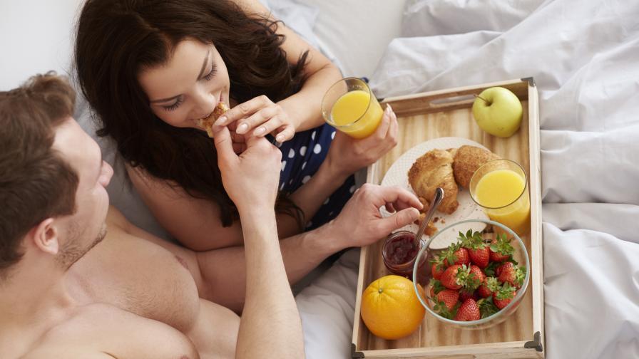 Най-доброто време за секс е 45 минути след събуждане