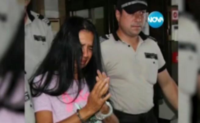 Анита Мейзер проговори, съдът я остави в ареста