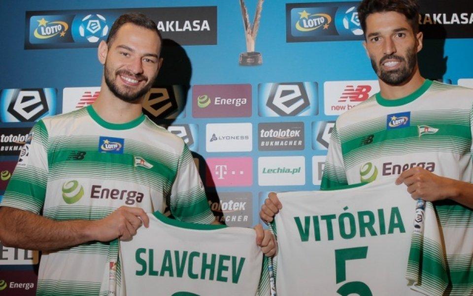 Представиха Симеон Славчев в новия му отбор
