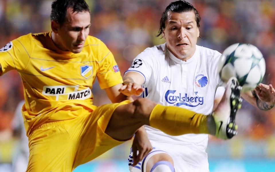 Живко Миланов с цял мач и реми в дербито на върха в Кипър