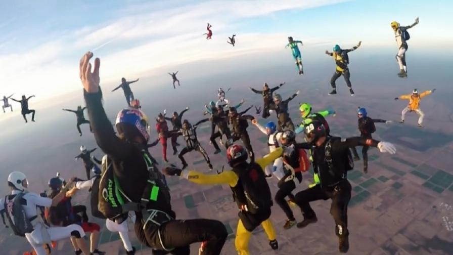 Диви и епични въздушни приключения (видео)