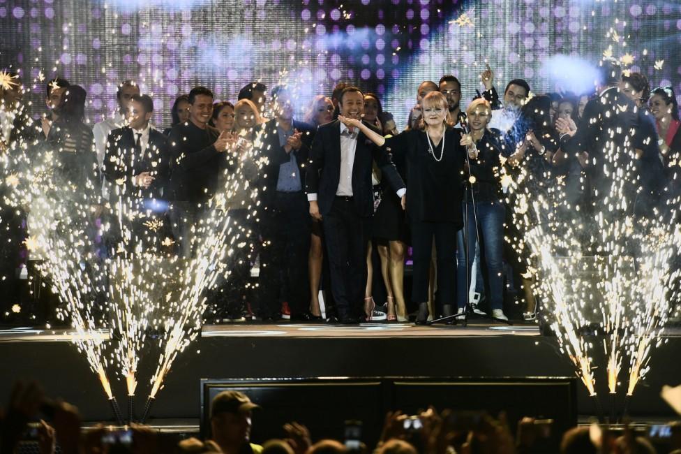 """- Хиляди се събраха в Княжеската градинка в София за концерта """"Заедно сме номер 1"""", с който беше даден стартът на новия телевизионен сезон на..."""