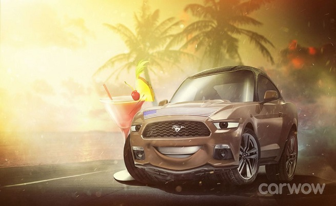 Барак Обама е Ford Mustang.