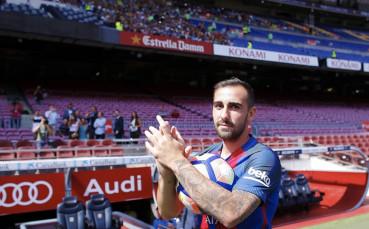 Спортинг Лисабон иска под наем нападател от Барселона