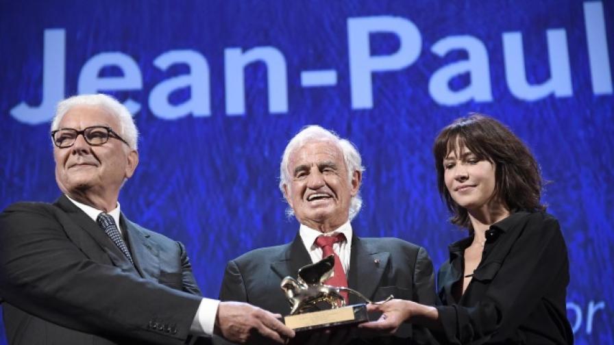 Жан-Пол Белмондо с приз за цялостно творчество