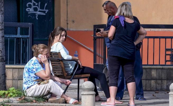 100 души са ранени след труса в Скопие