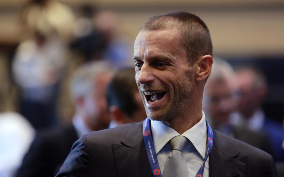Президенът на УЕФА Александър Чеферин призова правителствата в отделните европейски