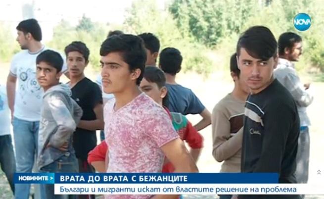 """Мигрантите в """"Овча купел"""": България е една голяма мафия"""
