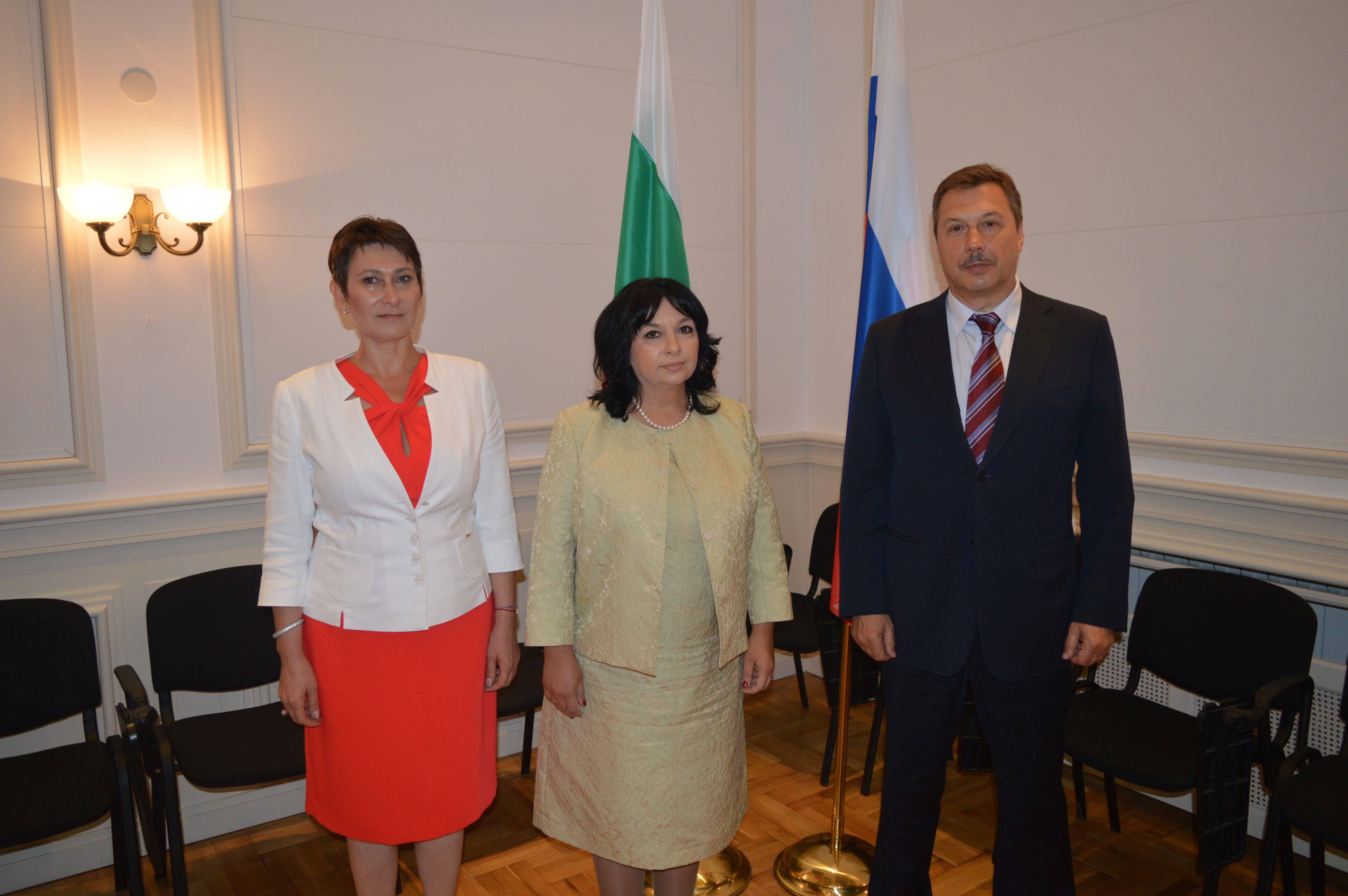 Сергей Герасимов на среща с министър на енергетиката Теменужка Петкова