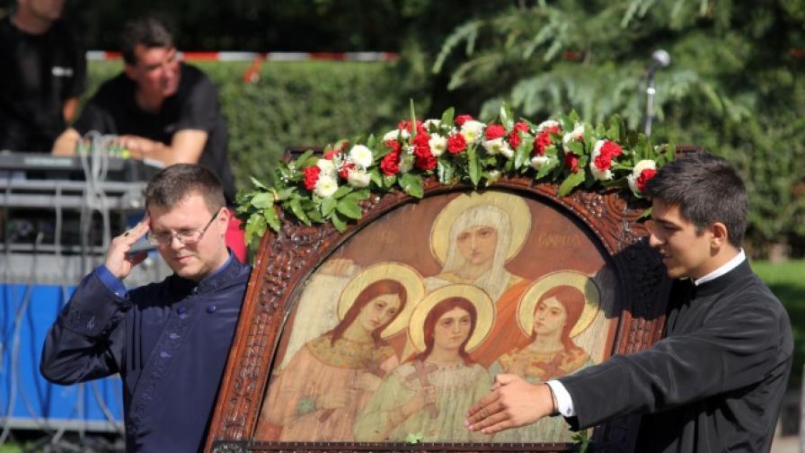 Столицата празнува - днес е денят на София