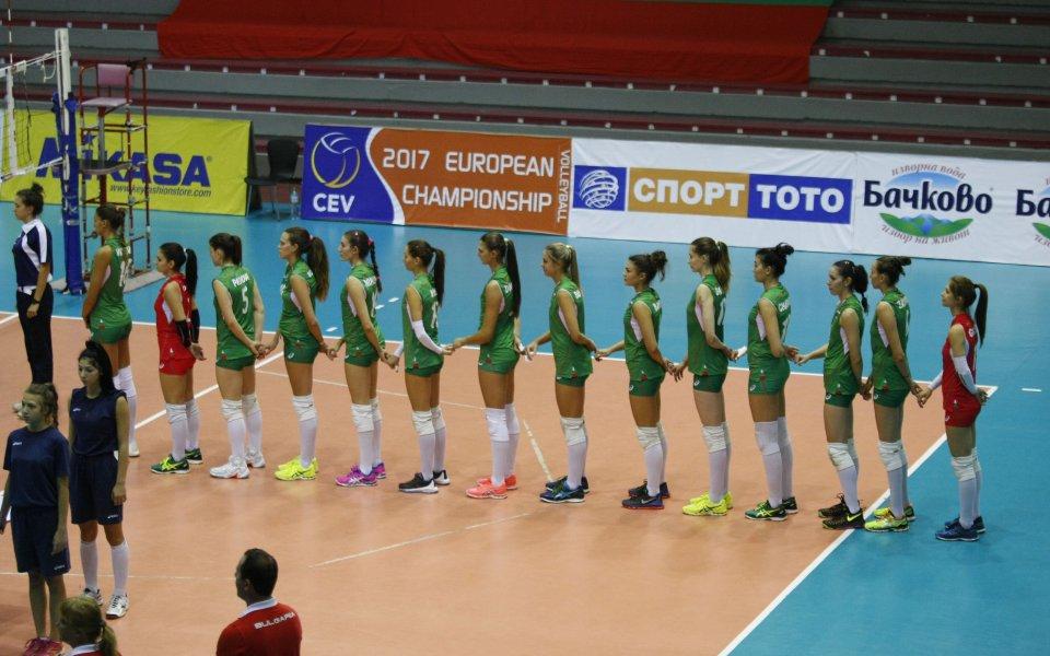Волейболистките ни подчиниха и Черна гора по път за ЕП '17