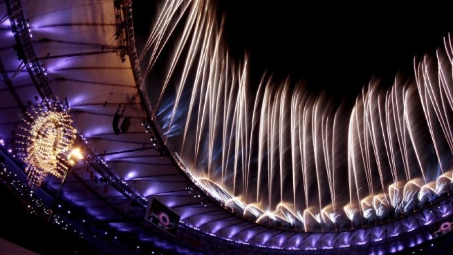 Параолимпиадата завърши с изумителни фойерверки