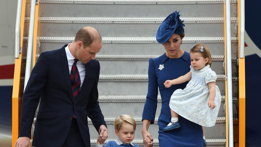 Кралското семейство в центъра на вниманието в Канада