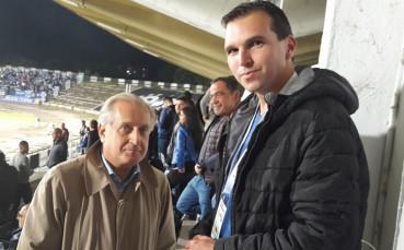 Новият бос не изпуска Левски от зоркия си поглед