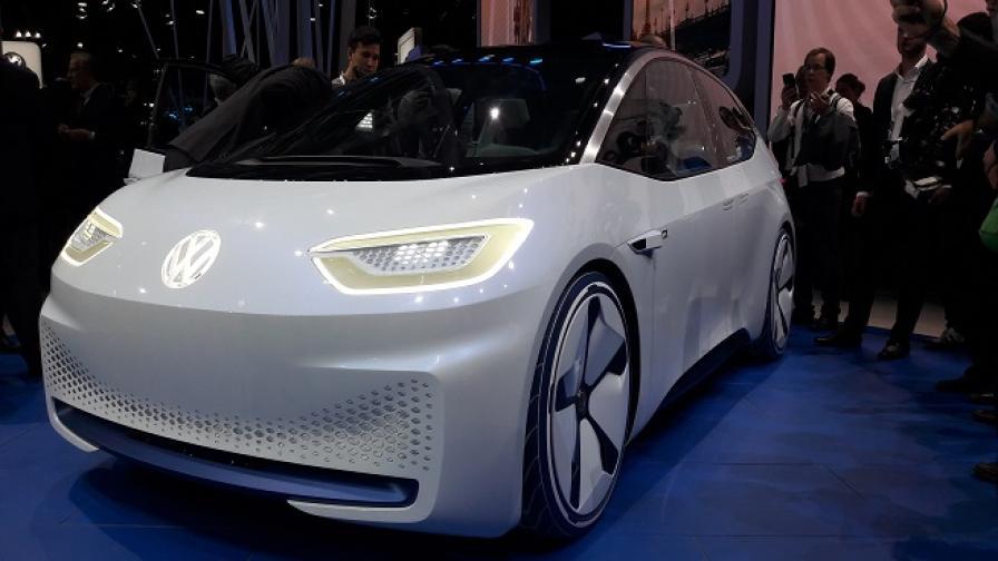 I.D. демонстрира бъдещето на Volkswagen
