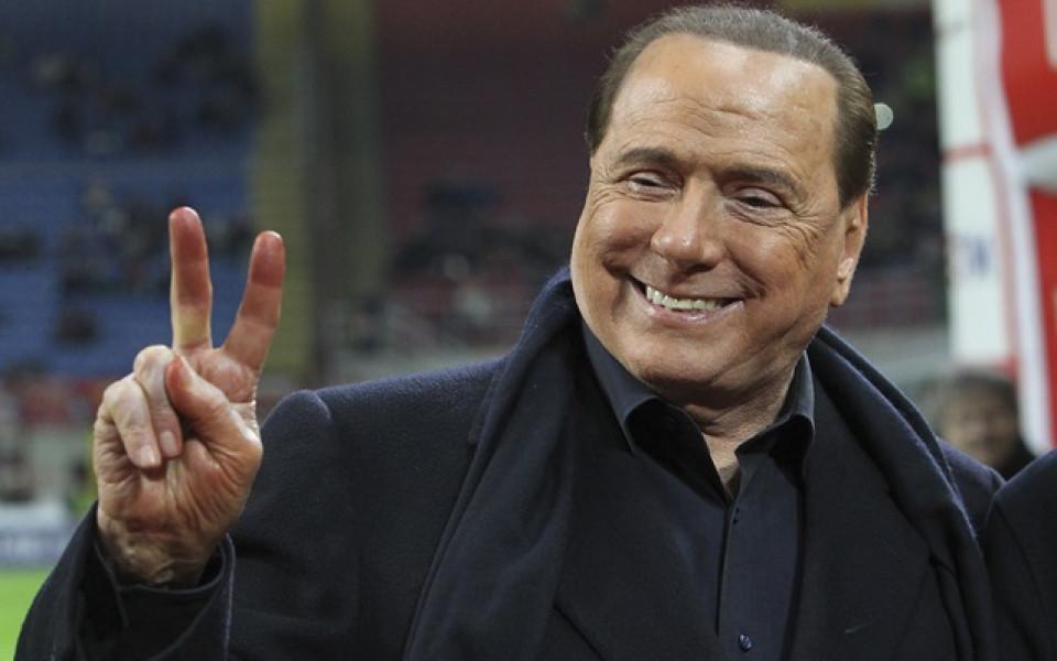 Новият клуб на Берлускони със звучен трансфер