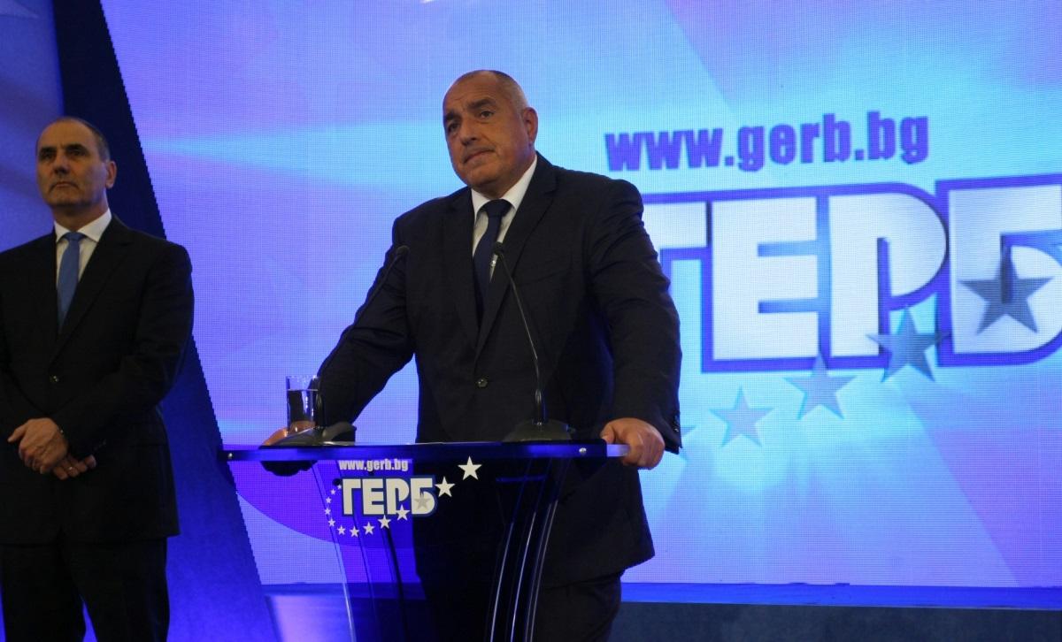 Това стана в присъствието на членовете на Изпълнителната комисия на ГЕРБ, народните представители от партията и общинските и областните координатори на ГЕРБ от цялата страна
