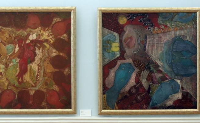 Изложба в Националната художествена галерия, с произведения на Нерон, предоставени от галериите в страната