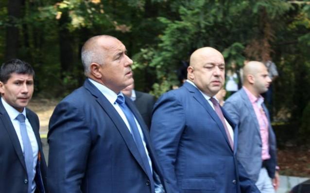 Бойко Борисов и Красен Кралев<strong> източник: Gong.bg, Валентин Грънчаров</strong>