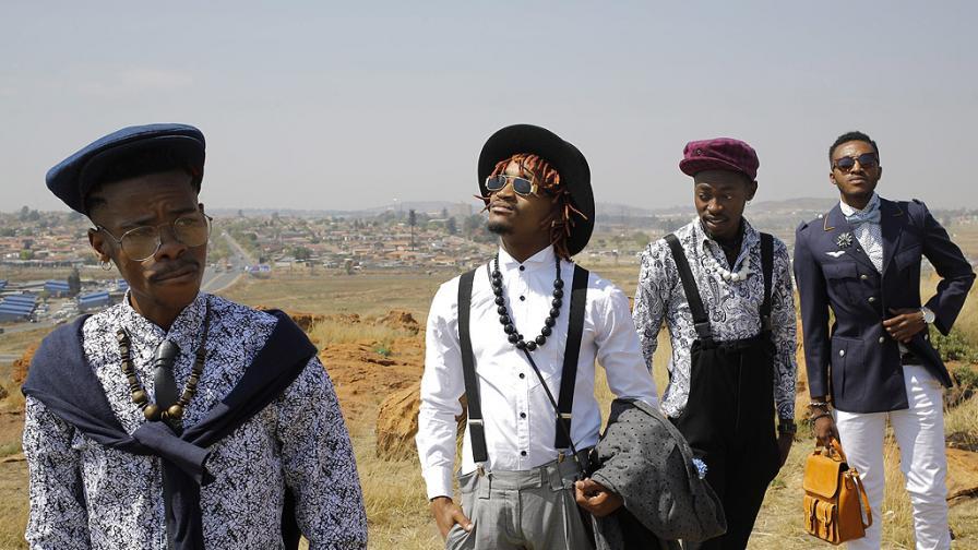 Какво означава елегантното облекло в Африка (снимки)