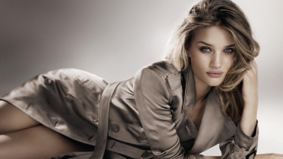 Британската актриса и модел Роузи Хънтигтън-Уайтли е лице и на новата, по-лека версия на емблематичния вече парфюм Burberry Body