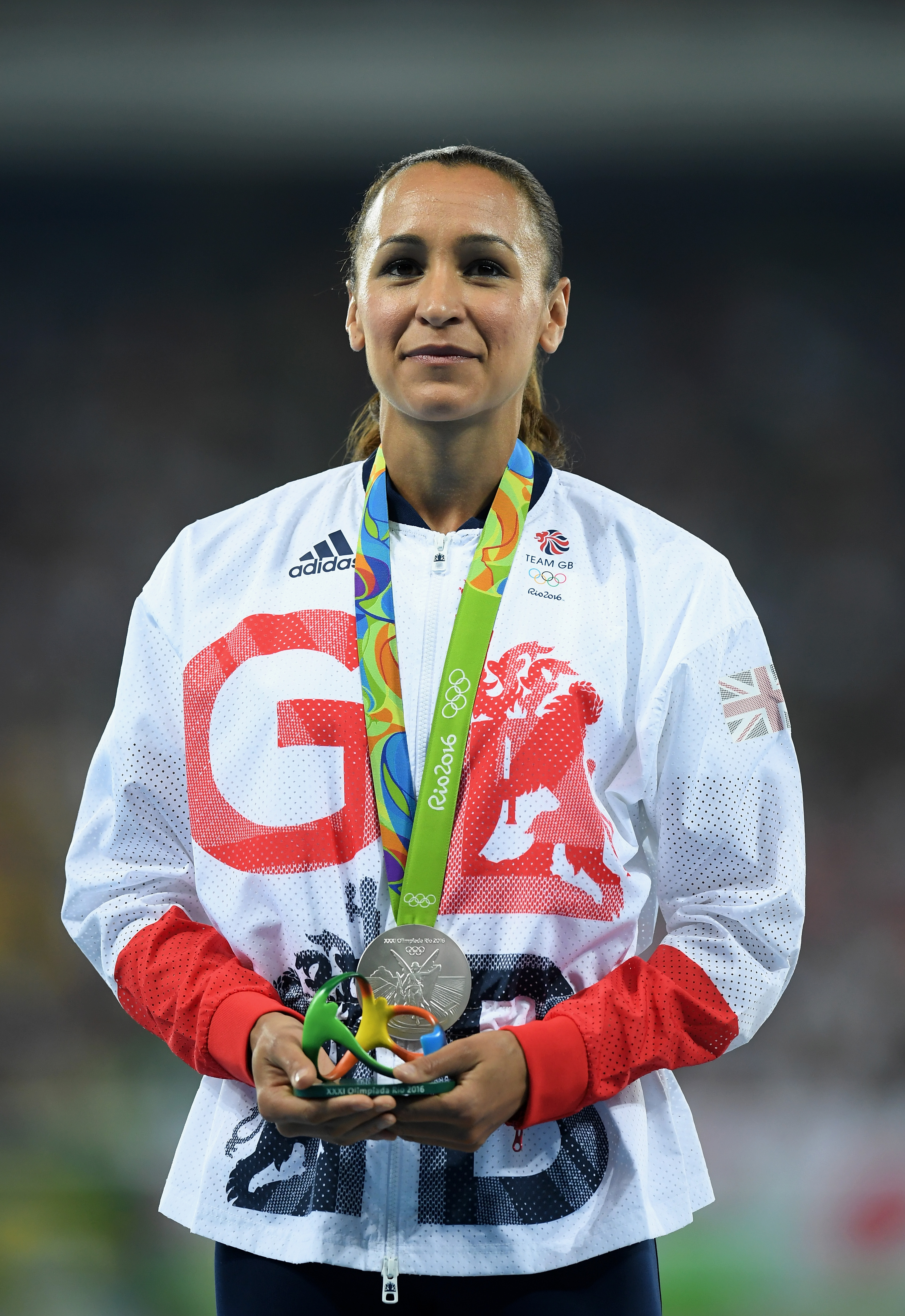 Атлетката и олимпийска златна медалистка Джесика Енис-Хил.