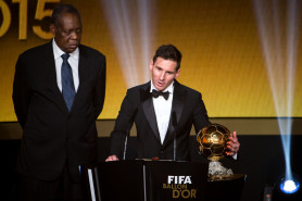 Връчиха Златната обувка на Лео Меси, изравни Роналдо