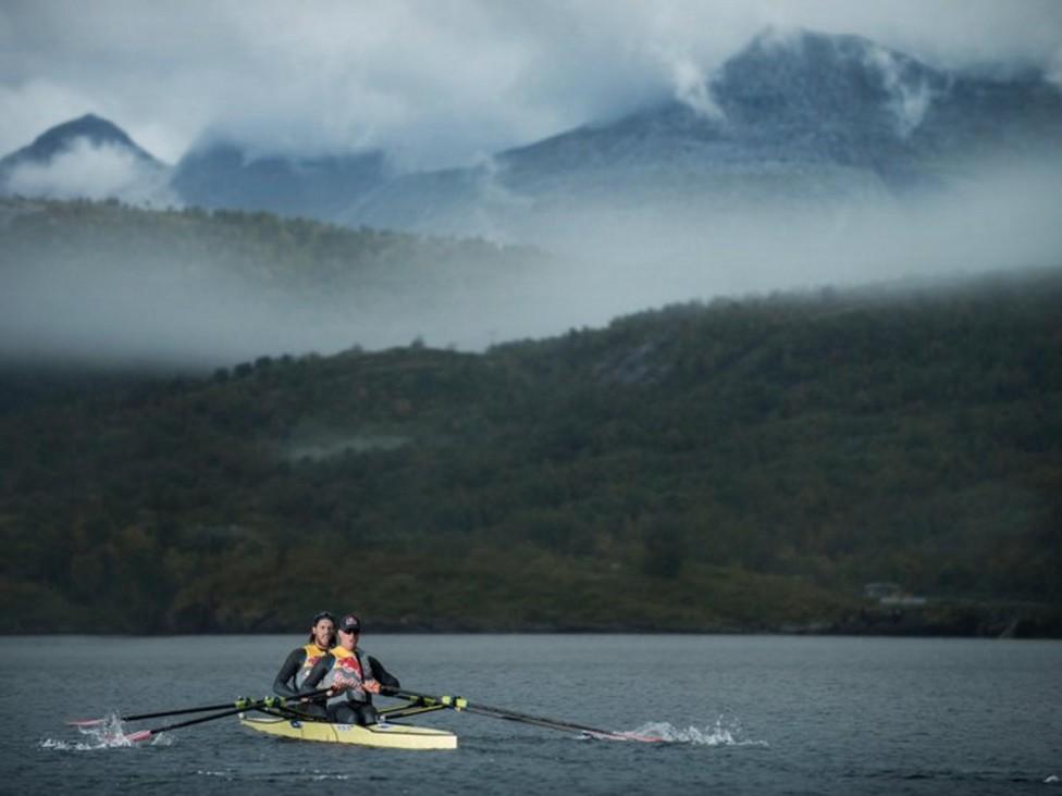 - Те преодоляха най-силното течение в света - Салстрауменв Норвегия