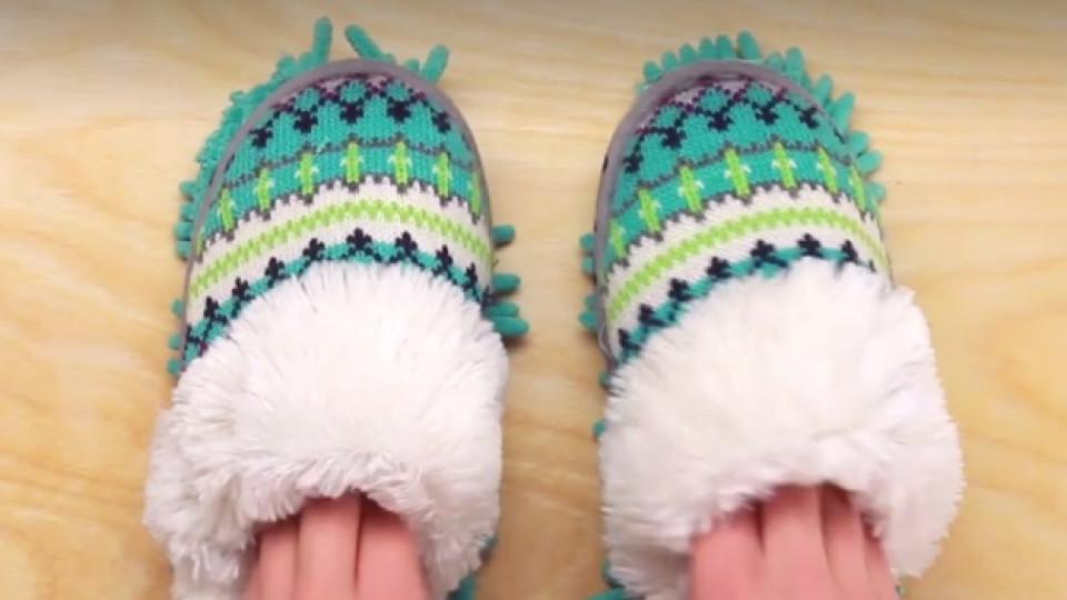 Как да си направим чистещи пантофки