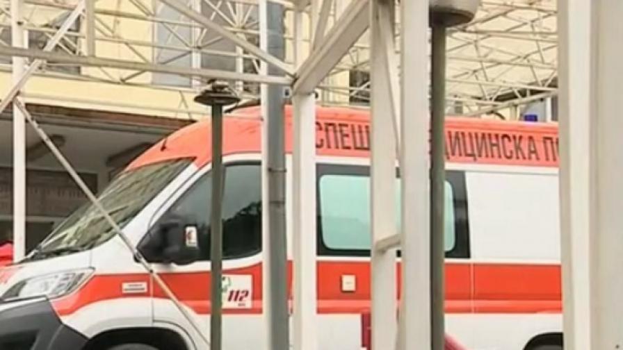 Катастрофа между такси и маршрутка в София, трима ранени