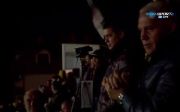 Хубчев следи изкъсо бг мачовете, гледа Ботев – Левски