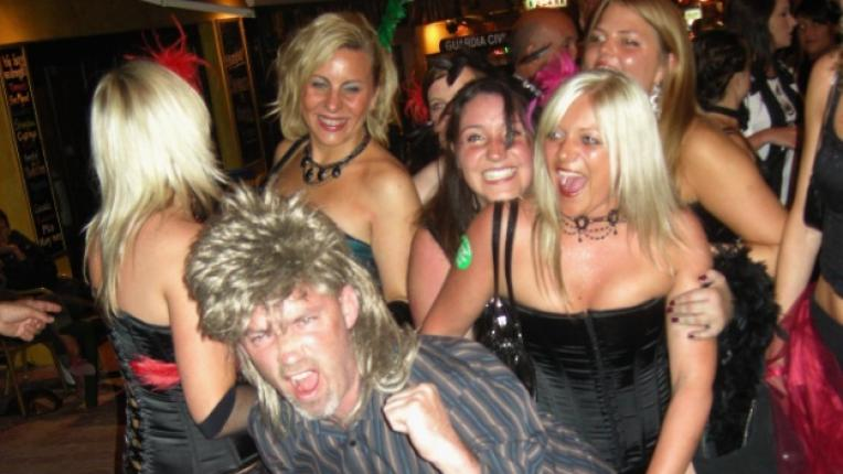 хора купон забавление секси перука мъж жени