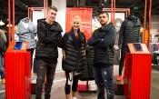 Божинов и секси баскетболистка промотират спортна колекция