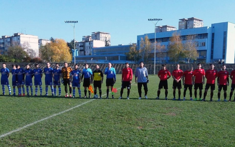 Локо Русе и Доростол не успяха да се победят в Трета лига