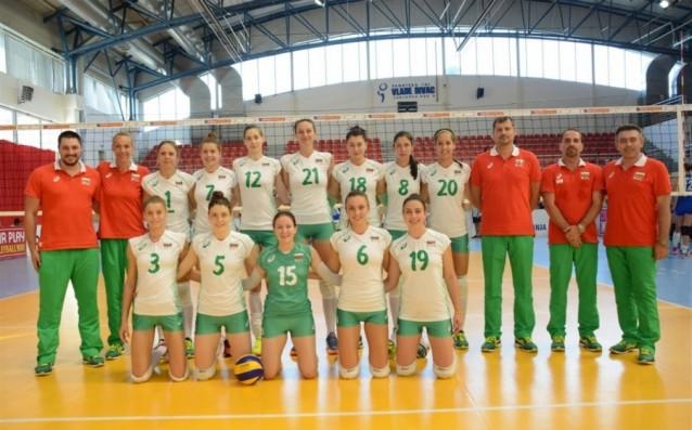 Националният отбор на България до 23 години<strong> източник: http://volleyball.bg/</strong>