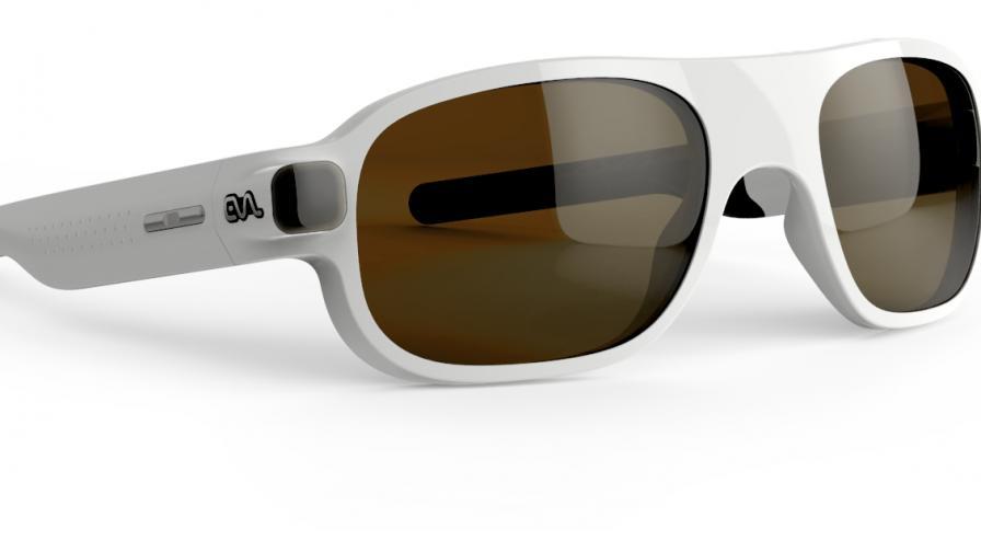 Илюстрация на умните очила за хора с увредено зрение EVA