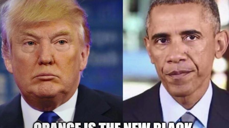 """""""Оранжевото е новото черно"""" и още куриози около Тръмп"""