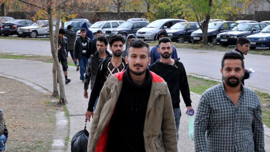 Бежанци от центъра в Харманли