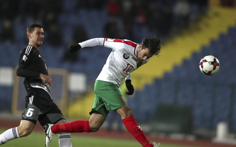 България - Беларус 1:0 (световна квалификация)