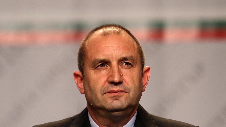 Румен Радев: Ще съставя служебно правителство, когато встъпя в длъжност