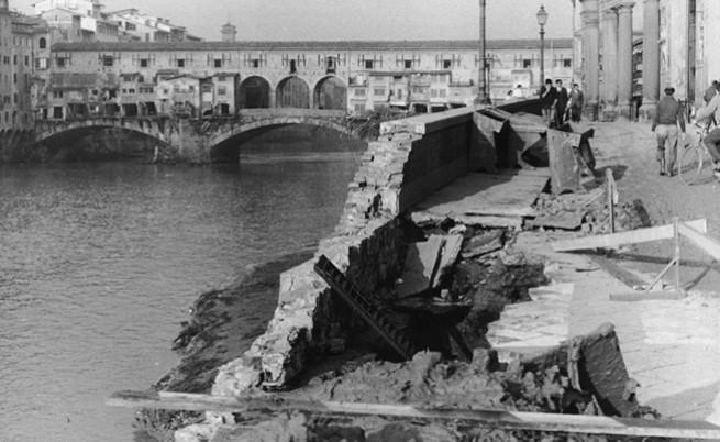 Природното бедствие, което заля културните съкровища на Флоренция